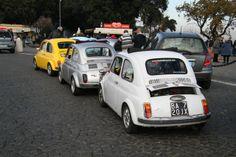 Fiat 500s, Gianicolo, Rome, 2013.