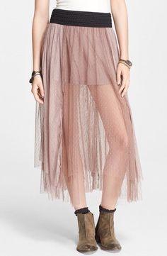 Free People Sugar Plum Tutu Skirt. NWT. Black Waistband. Blush. Small. Beautiful