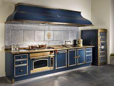 Cucina completa in metallo con accessori di cottura- Restart   324M ...