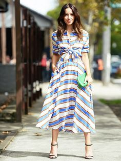 18 Summer Outfits That Always Look Slimming via @WhoWhatWear