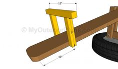 Wooden veranda creativo : DIY porch swing plans. Easily modified for seat height and depth, imo ...