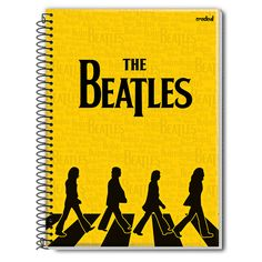 Caderno The Beatles Abbey Road Tracing 1 Matéria #TheBeatles #School #AbbeyRoad