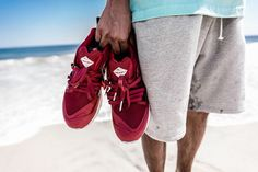 Great shots of the Sneaker Freaker x PUMA Blaze of Glory Bloodbath. Coming 10th October.   http://ift.tt/1OypJaq