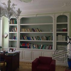 Libreria in cartongesso eseguita a Milano. http://www.pavimenti-resina ...