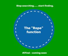 """When you set a tag in """"Rope"""" mode, the tagged item and phone will beep when the tag is moving out of a pre-set range. Wicked cool! #iFind"""