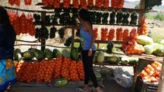 South Africa, Venda, travel loving the fruit and vegetable stall road tripping.
