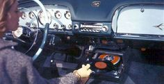 Car record player