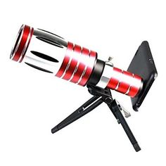 50X Super Long Optical Zoom Telescope Lens with Back Case and Tripod for Samsung Galaxy S5 I9600 – NOK kr. 1.148