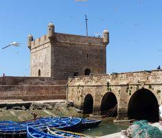 Am Hafen von Essaouira, Marokko