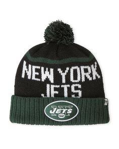 '47 Brand New York Jets Pom-Pom Linesman Knit Hat