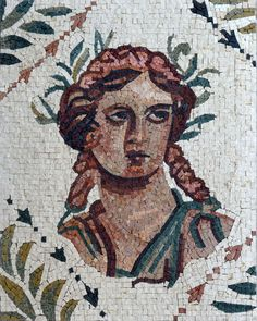Look to the detailed and appealing hues of the Roman mosaic portrait of Athena. Created using natural marble stones and it's available in multiple finishes, to help you select the one that is best suited for your interiors. Greece Mythology, Greek And Roman Mythology, Athena Aesthetic, Aesthetic Art, Ancient Greek Art, Ancient Greece, Athena Greek Goddess, Greek Crafts, Greece Art