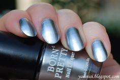 YASINISI: BPS Metallic Nail Lacquer Mirror Effect - Silver Sword