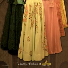 A wide range of outfits carrying variety of craft and colors. Designer Dresses, Sari, Range, Ootd, Photo And Video, Studio, Colors, Crafts, Outfits