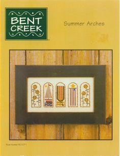 Schema punto croce Summer Arches 01
