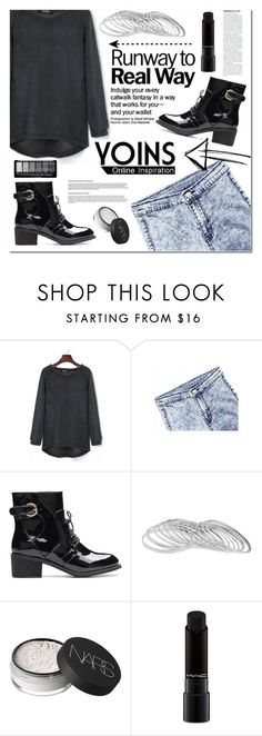 """""""Yoins32"""" by angel-a-m ❤ liked on Polyvore featuring NARS Cosmetics and MAC Cosmetics"""
