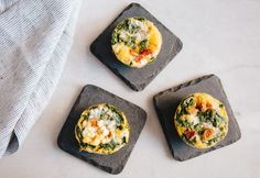 An ideal breakfast for those sprint-out-the-door kind of mornings. #easy #egg #muffins http://greatist.com/eat/egg-muffin-recipe