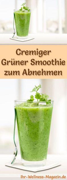 Grüner Smoothie zum Abnehmen und weitere leckere Abnehmshakes, Eiweißshakes & Smoothies zum selber machen - sehr gesund und gut für die Figur ...