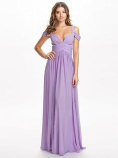 Greta Dress - Forever Unique - Lilac - Partykleider - Kleidung - Damen - Nelly.de Mode Online