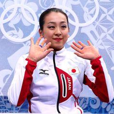 ソチオリンピック Yahoo! JAPAN - 浅田真央、フリー自己最高得点に笑顔=ソチ五輪・フィギュアスケート(スポーツナビ)