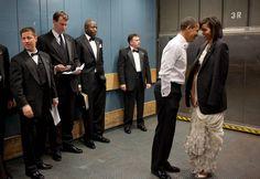 In beeld: hoe de geheime dienst Obama constant in de gaten houdt
