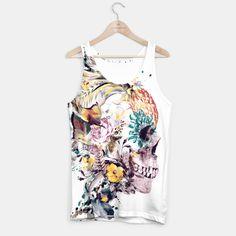 Momento Mori VII #skull #flowers #birds #collage #abstract #colors #digitalart