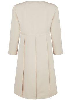 Suzannah  Trapeze Line Coat Cream Wool  £750.00