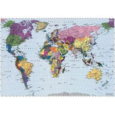 World map free large images maps pinterest wallpaper world map wall mural wall mural gumiabroncs