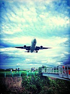 lunding #plane