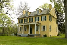 A classic Colonial home.