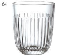 Robustes Glas für den Alltag und schickes Design – dafür steht der französische Hersteller La Rochere. Becher OUESSANT ist aus bruchsicherem und spülmaschinenfestem Glas gefertigt. Ergänzen Sie den Glasbecher mit weiteren Produkten der Serie OUESSANT aus unserem Shop.