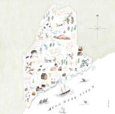 Maine Line - Sarah Burwash