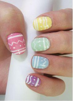 Easter Nail Art Designs - This Girl's Life Blog - http://www.oroscopointernazionaleblog.com/easter-nail-art-designs-this-girls-life-blog/