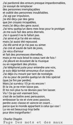on ne se rend jamais compte du mal qu'on fait, on se rend compte que du mal … One Word Quotes, Now Quotes, Text Quotes, Life Quotes Pictures, Picture Quotes, Sweet Words, Love Words, French Lessons For Beginners, French Quotes