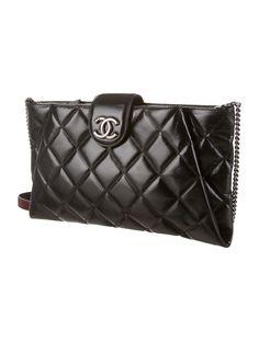 Chanel Coco Pleats Clutch - Handbags - CHA51133 | The RealReal