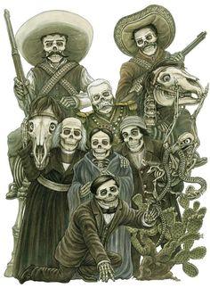 emiliano zapata dia de los muertos