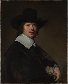 Portrait of a Man Johannes Verspronck (Dutch, Haarlem, born ca. 1601–3, died 1662 Haarlem)