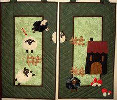 DSC04890.JPG - Mes moutons en été 80 x 70 cm
