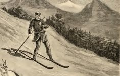 Snowshoe Thompson Had to be the Most Badass Backcountry Skiing Mailman Ever First Winter Olympics, Nature Story, Ski Racing, South Lake Tahoe, Snowy Mountains, Cross Country Skiing, His Travel, Day Hike, Alps