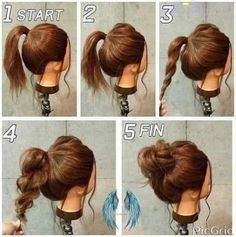how to hair  <br> Classy Updo Hairstyles, Latest Short Hairstyles, Fast Hairstyles, Easy Hairstyles For Long Hair, Hairstyle Ideas, Simple Hairdos, Hairstyle Tutorials, Hair Ideas, Hairstyles 2018
