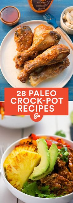 Easy paleo crowd pleasers #paleo #crockpot #recipes http://greatist.com/eat/paleo-crock-pot-recipes
