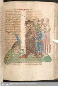 293 [145r] - Ms. Carm. 1 (Ausst. 47) - Das Buch der Natur - Page - Mittelalterliche Handschriften - Digitale Sammlungen  Hagenau, [um 1440]