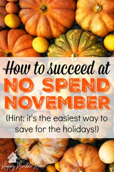 No Spend November: Everything you need to know to boost your bank account in time for the holidays - Learn how to do an easy no spend challenge to get ahead before the holidays and let yourself have a simple debt free Christmas this year! No Spend Challenge, Savings Challenge, Money Saving Challenge, Savings Plan, Living On A Budget, Frugal Living Tips, Frugal Tips, Save Money On Groceries, Ways To Save Money