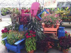 Summer display at Al's Garden Center of Woodburn.