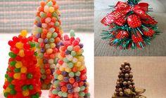 Deliciosos arbolitos navideños de dulces | Ideas para Decoracion