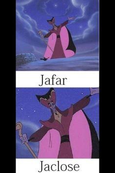 Disney humor. Hahahaha