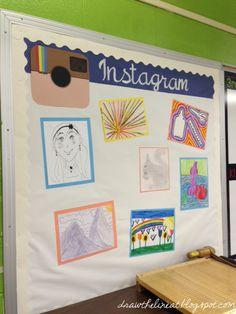 Draw The Line At: instagram bulletin board
