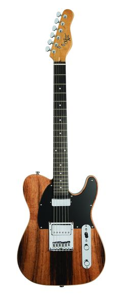 Michael Kelly CC55EB Custom Collection 1955 Solid-Body Electric Guitar, Striped Ebony $496.27