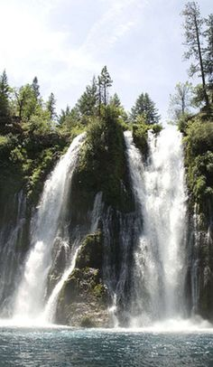 """Teddy Roosevelt called this spring-fed waterfall """"The Eighth Wonder of the World"""""""