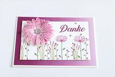 Dankeskarte in Sommerbeere - himmelsfee.de