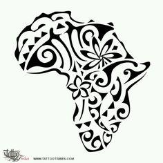 Africa tattoo